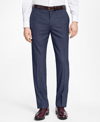 Regent Fit Basketweave Trousers