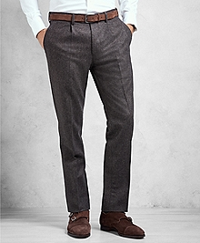 Golden Fleece® Single-Pleat Flannel Trousers