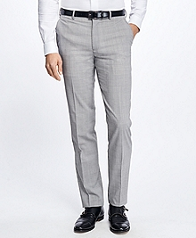 Fitzgerald Fit BrooksCool® Plaid Trousers