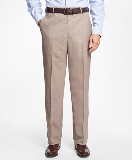 Regent Fit Saxxon Wool Trousers