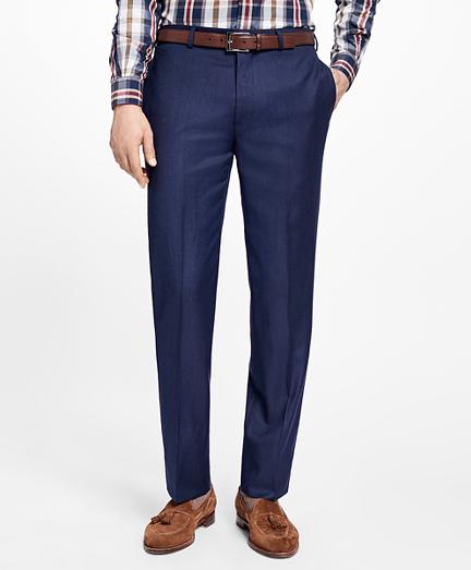 Regent Fit Stretch Wool Trousers