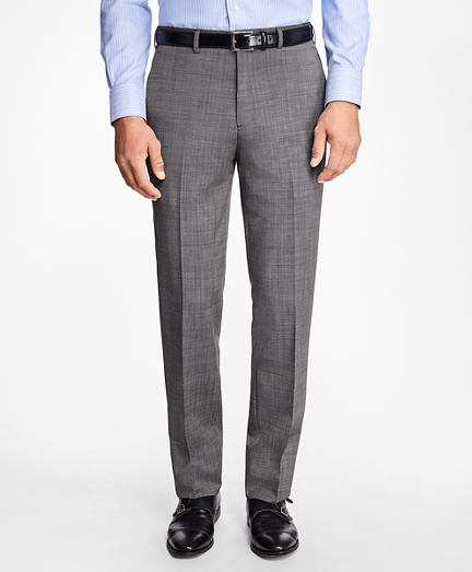 Regent Fit Wool and Mohair Trousers