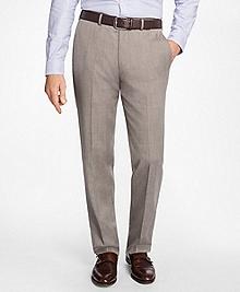 Madison Fit Herrigbone Dress Trousers