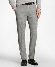 Regent Fit BrooksCool® Glen Plaid Trousers