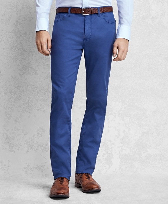 Golden Fleece® Five-Pocket Trousers Royal Blue
