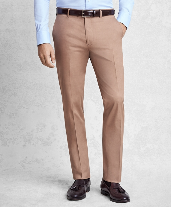Golden Fleece® Cotton and Cashmere Gabardine Trousers