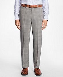 Madison Fit BrooksCool® Glen Plaid Trousers