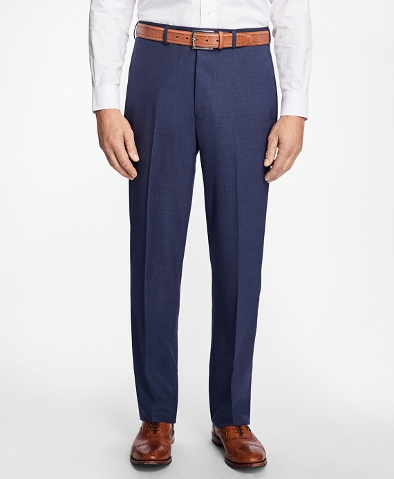 Madison Fit BrooksCool® Houndstooth Trousers Blue