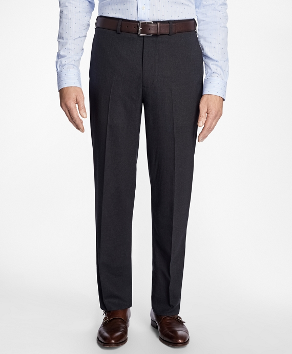 Madison Fit BrooksCool® Houndstooth Trousers Charcoal