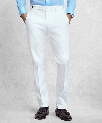 Golden Fleece® White Pique Chinos