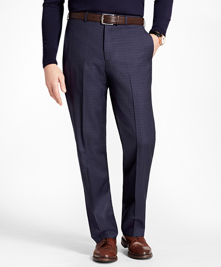 Madison Fit Tonal Check Trousers