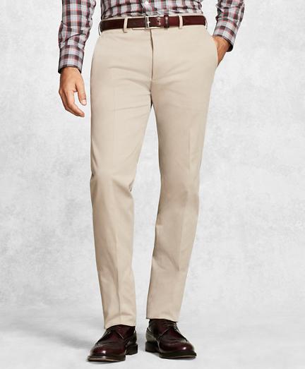 Golden Fleece® Solid Khaki Dress Trousers