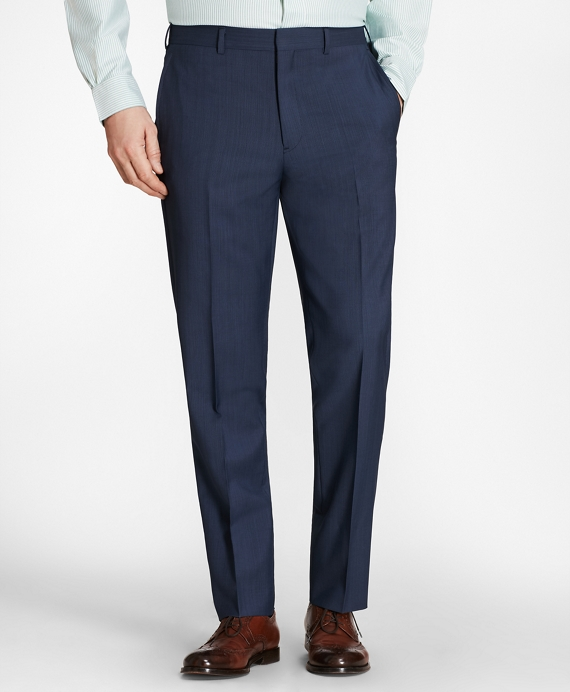 Regent Fit Hairline Stripe Trousers Blue