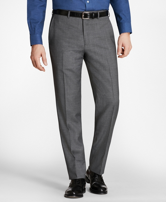 Regent Fit Check Trousers Grey