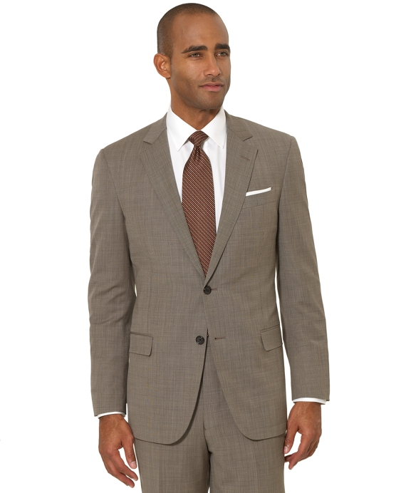 BrooksCool® Tan Tic Fitzgerald Fit Suit Tan