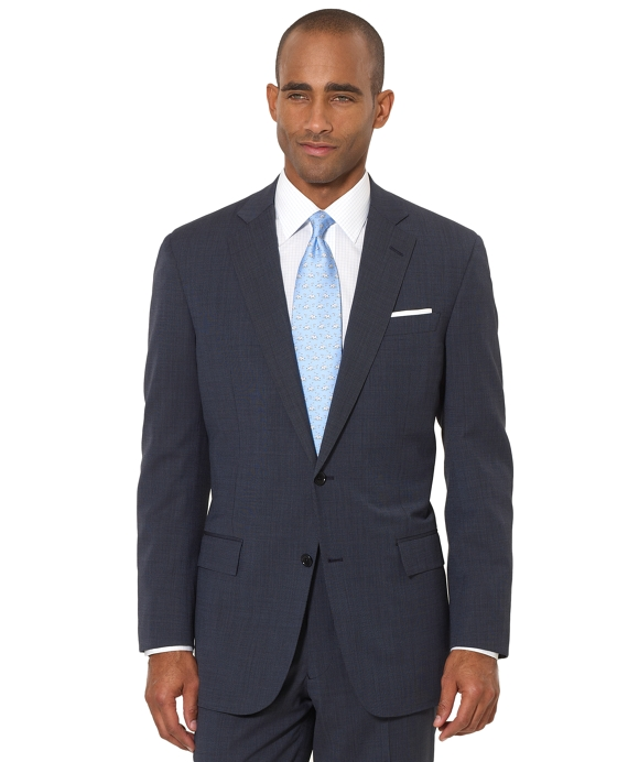 BrooksCool® Blue Tic Regent Fit Suit Blue