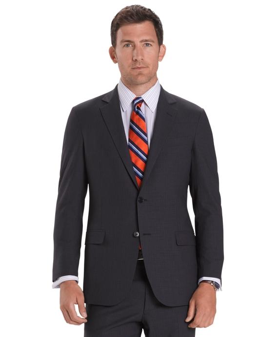 Irish Linen Fitzgerald Fit Suit Navy