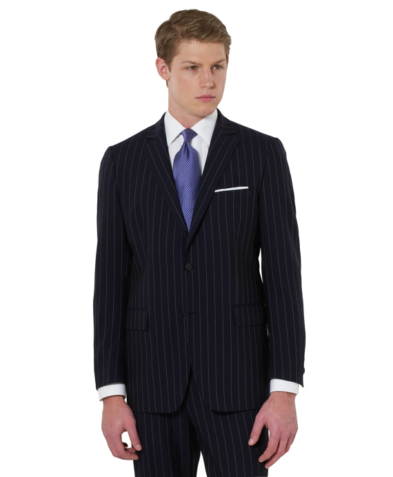 Fitzgerald Wide Stripe 1818 Suit Navy
