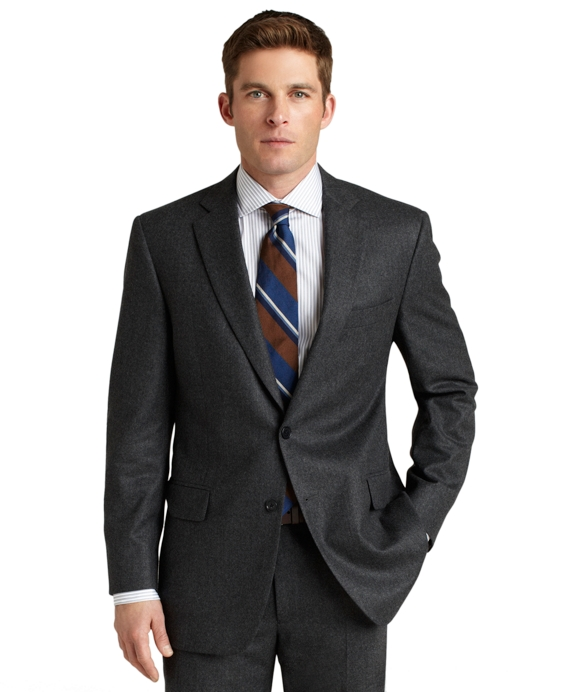 Madison Flannel 1818 Suit Grey
