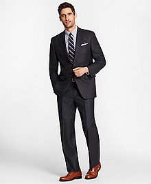 Madison Fit Saxxon Wool Navy Tic 1818 Suit