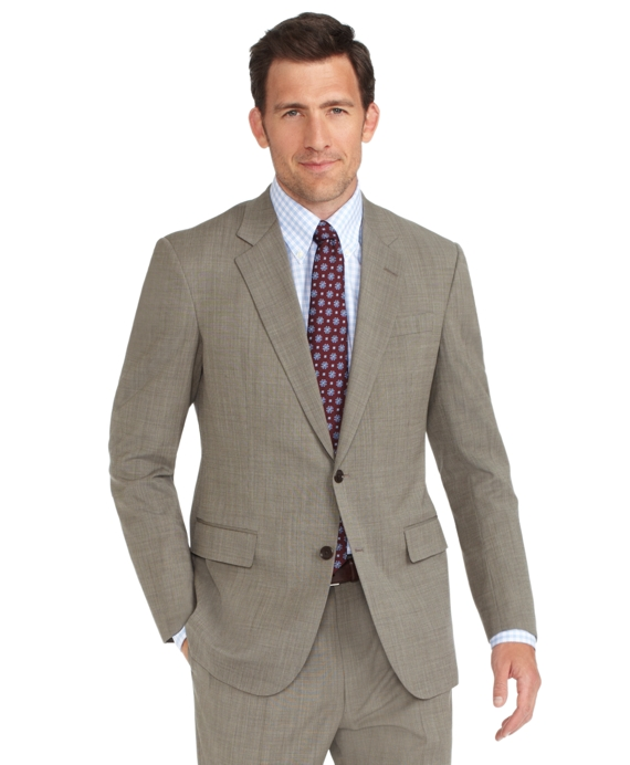 BrooksCool® Tic Madison Fit Suit Tan