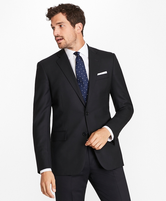 Two-Button Suiting Essential Jacket Navy