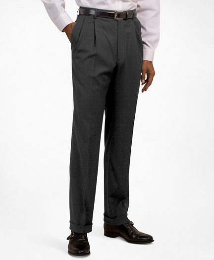 Pleat-Front Suiting Essential Trousers