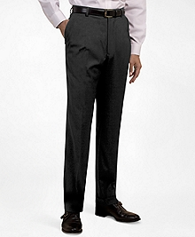 Plain-Front Suiting Essential Trousers