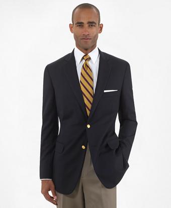Two-Button Regent Fit Blazer