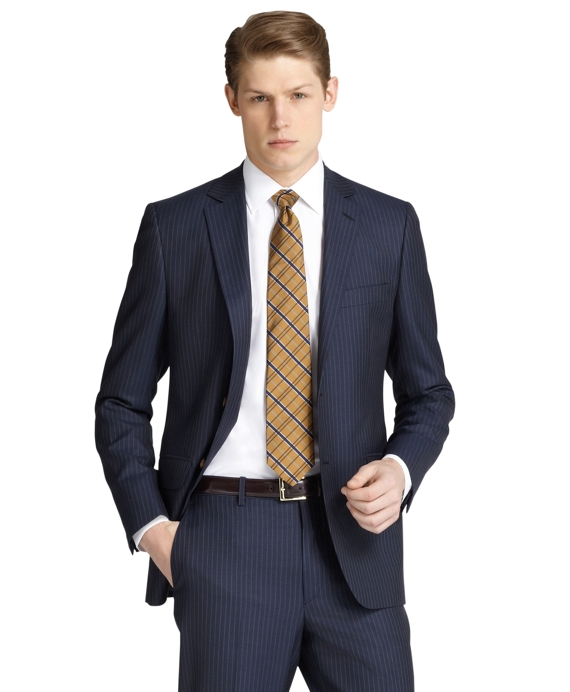 Fitzgerald Fit Track Stripe 1818 Suit Blue