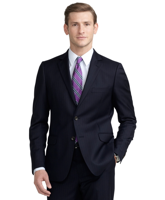 Fitzgerald Fit Stripe 1818 Suit Blue