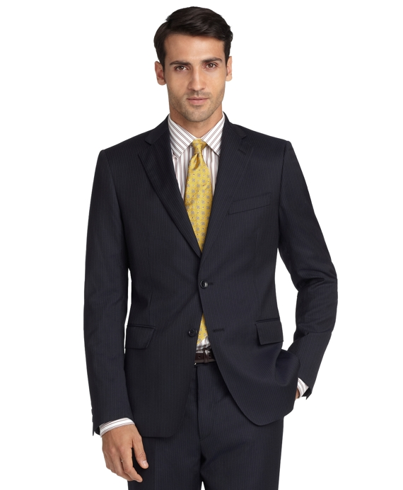 Regent Fit Stripe 1818 Suit Navy