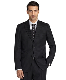 Regent Fit Double Track Stripe 1818 Suit