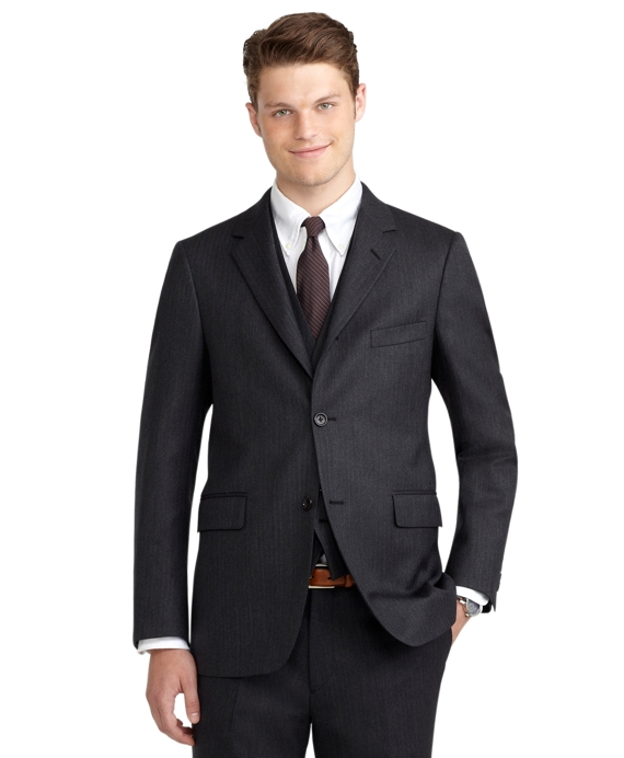 Cambridge Three-Piece Suit Charcoal