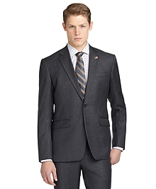 Milano Fit Saxxon Stripe 1818 Suit