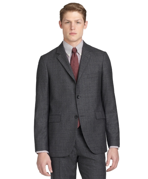 Cambridge Plaid 1818 Suit Charcoal