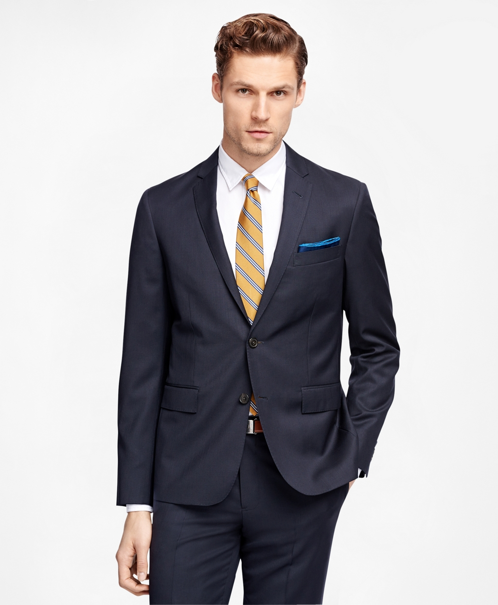 Men's Navy Suit Jacket | Brooks Brothers