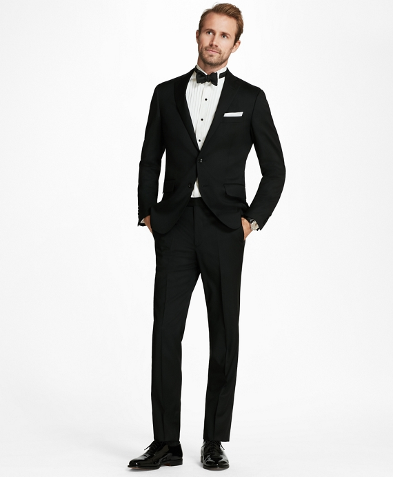 Regent Fit Solid 1818 Suit Black