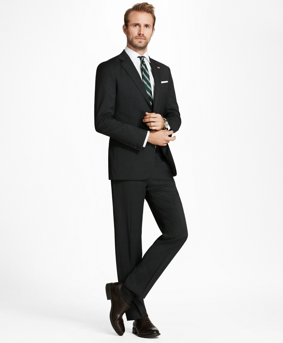 Regent Fit Solid 1818 Suit Grey