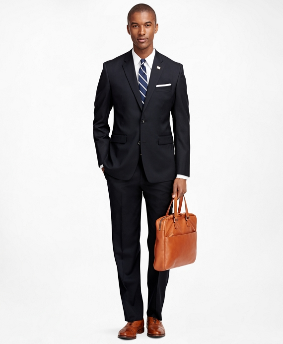 Milano Fit Solid 1818 Suit Navy