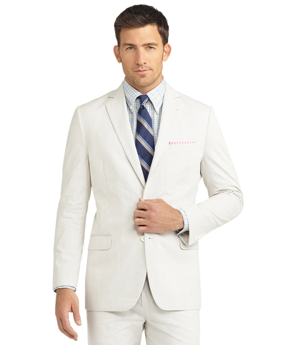 Fitzgerald Fit Pincord Suit Tan
