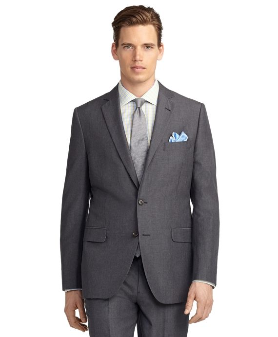 Fitzgerald Fit Melange Suit Grey