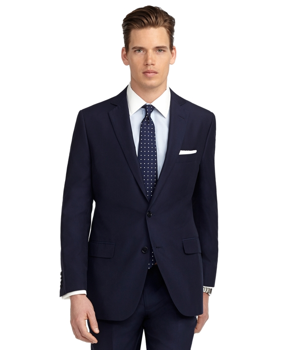 Fitzgerald Fit Solid Navy Suit Navy
