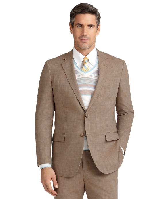 BrooksCool® Fitzgerald Fit Tic Suit Tan