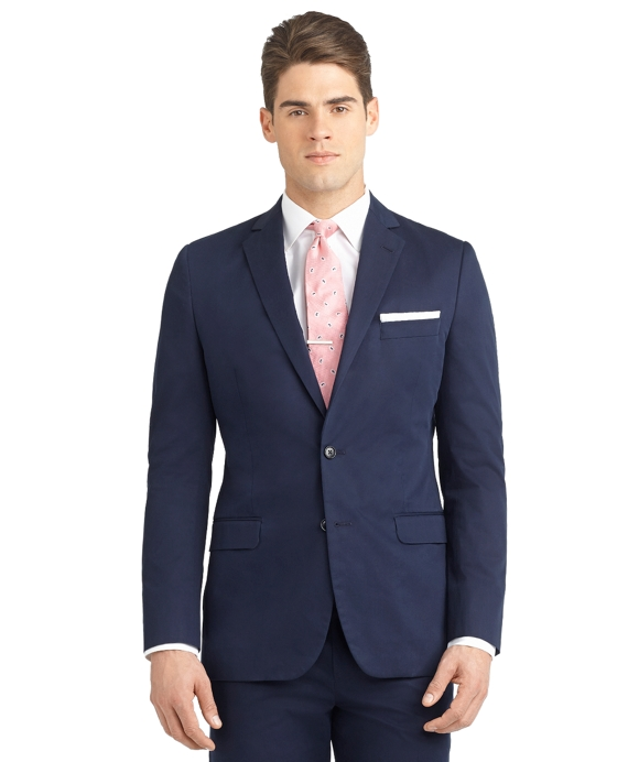 Fitzgerald Fit Twill Suit Navy