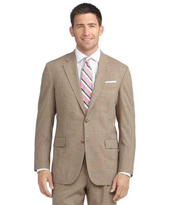 BrooksCool® Madison Fit Tic Suit Tan