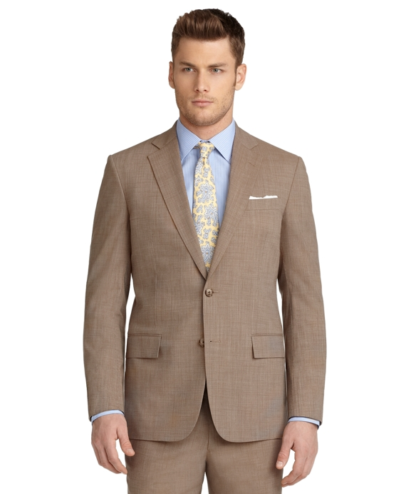 BrooksCool® Regent Fit Tic Suit Tan