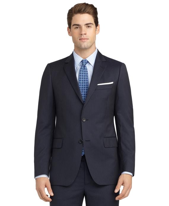 Fitzgerald Fit Mini Bead Stripe 1818 Suit Blue