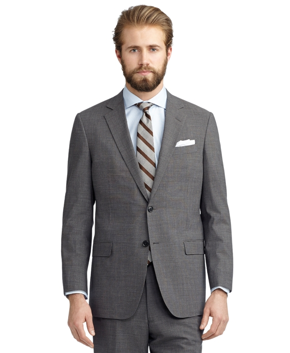 BrooksCool® Fitzgerald Fit Grey Tic Suit Grey