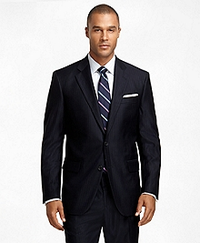 Madison Fit Saxxon  Wool Stripe and Shadow Stripe 1818 Suit